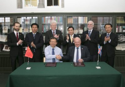 Icelandic-Chinese partnership signed for geothermal power development in China