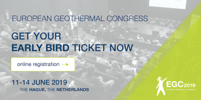 European Geothermal Congress 11-14 June 2019 – Early Bird running out