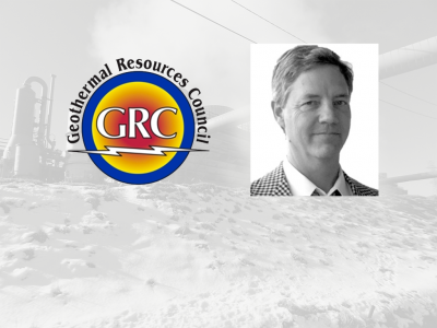 Geothermal Resources Council welcomes Dr. Andrew Sabin as new president