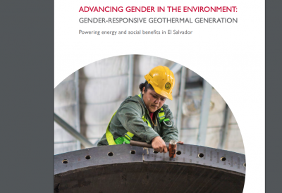 Case study on gender-responsive geothermal generation in El Salvador