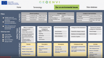 GEOENVI recording of webinar on tackling geothermal environmental concerns
