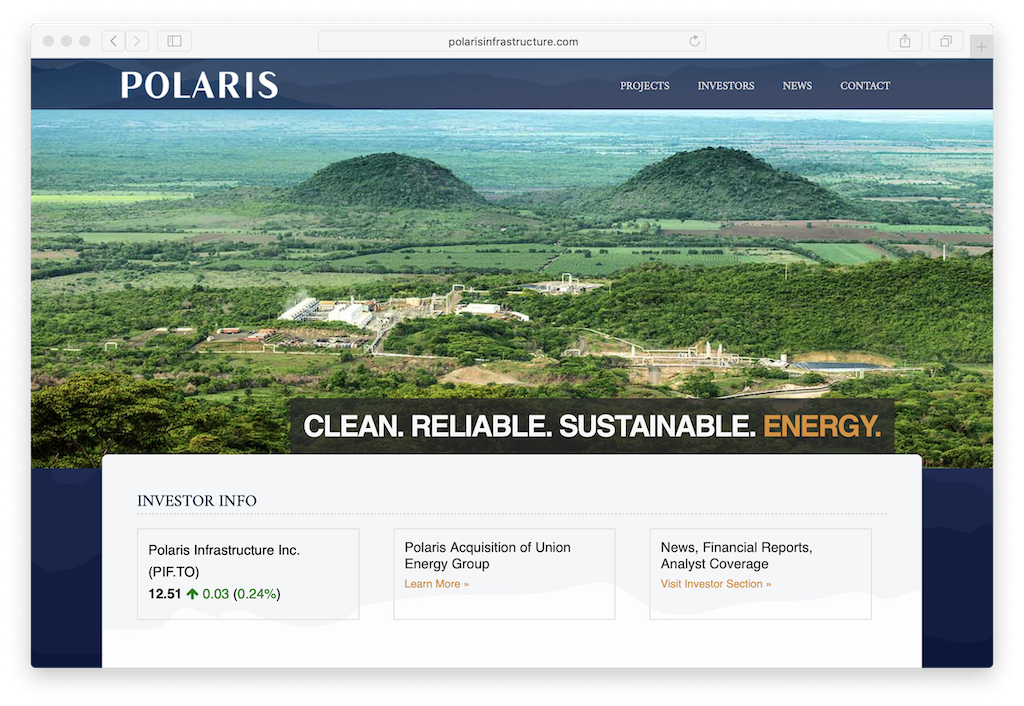 Polaris Infrastructure raising funds of up to $25m for development purposes