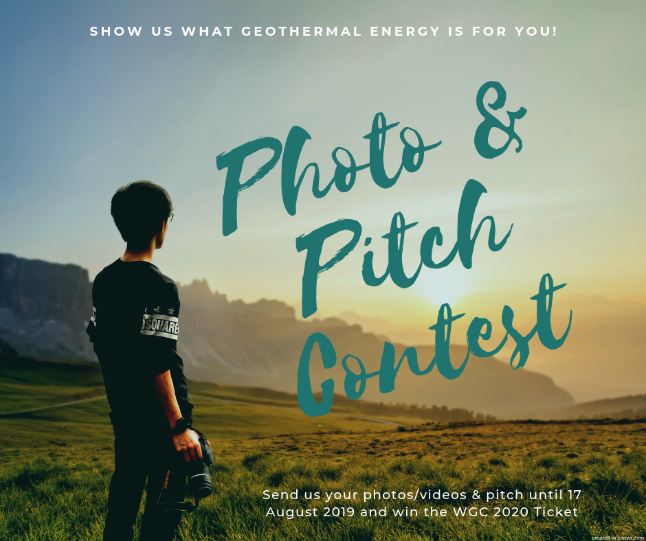 IGA's Annual Geothermal Photo Contest – Win a ticket to WGC2020!