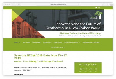 NZGW 2019 – Innovation & the Future of Geothermal – Abstract Submissions Reminder