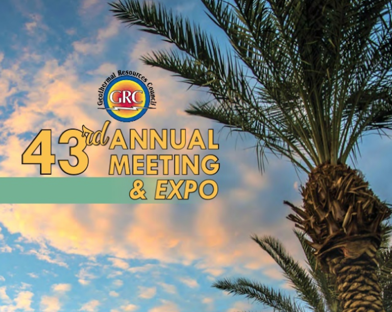 Lates program shared for GRC Annual Meeting, Palm Springs – 15-18 Sep. 2019