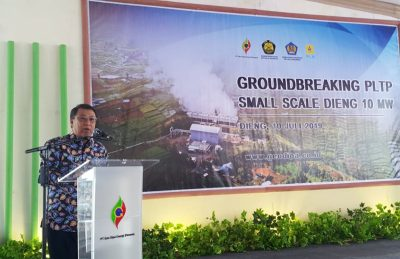 PT GeoDipa Energi breaks ground for 10 MW small-scale geothermal project at Dieng