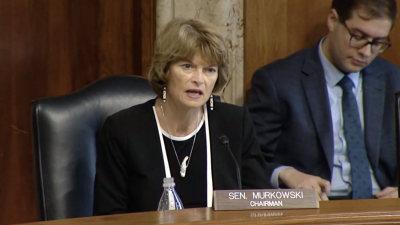 Senator Lisa Murkowski points to great U.S. geothermal potential