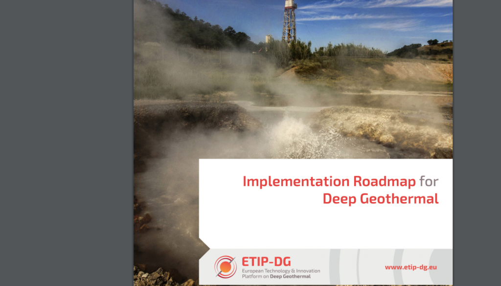 ETIP-DG: Implementation Roadmap for Deep Geothermal in the European Union