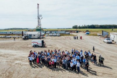 Eavor Technologies breaks ground on innovative geothermal project in Alberta, Canada