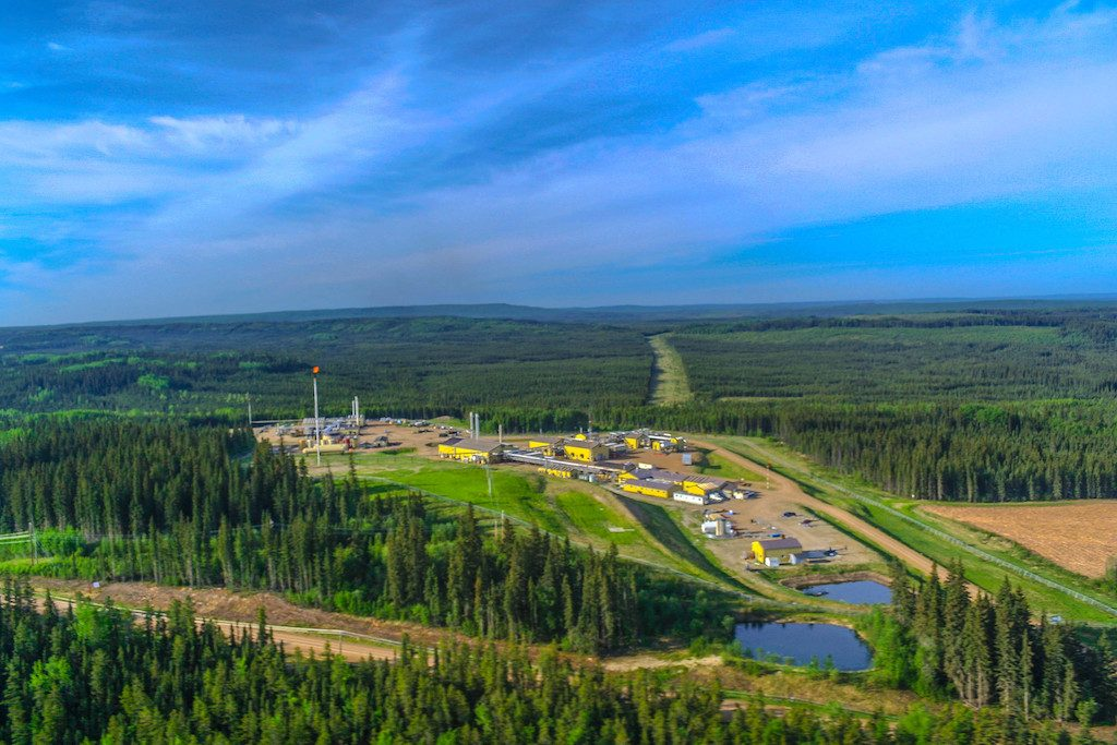 Transforming aging gas field into geothermal project in BC, Canada