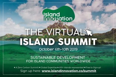 (online & free) Virtual Island Summit – Sustainable Dev't for Island States, 6-10 Oct 2019