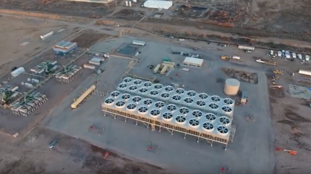 Video: 14 MW Lightning Dock ORC geothermal plant by Turboden, New Mexico