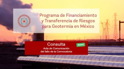 Initial Call under Mexican Geothermal Financial Program declared void