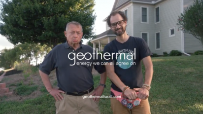 Fantastic video campaign by our friends in the geothermal/ groundsource heat pump sector