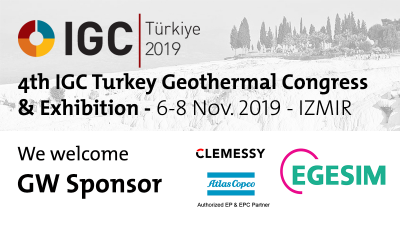 EGESIM, Atlas Copco & Clemessy join IGC Turkey Geothermal Congress, Nov. 2019