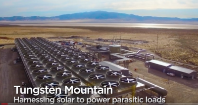Video: adding solar PV plant to the Tungsten geothermal power plant in Nevada