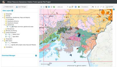 New Uganda Geoscience Data Portal to support mineral, land use, water and geothermal