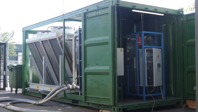 Geothermal ORC units to be set up in demonstration projects in France and Iceland.