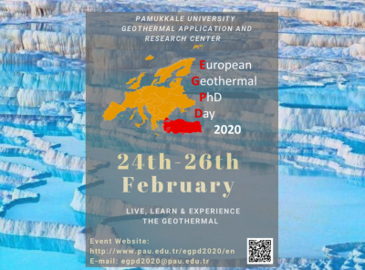 11th European Geothermal PhD Days, Denizli, Turkey – 24-26 February 2020
