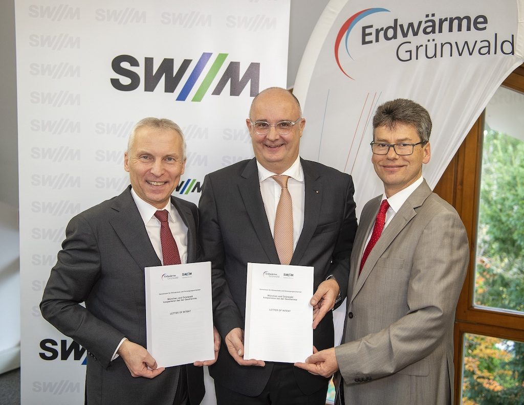 Local utilities in/ near Munich to partner on geothermal energy district heating development
