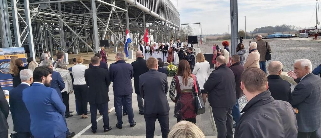 Croatia's first geothermal plant officially inaugurated