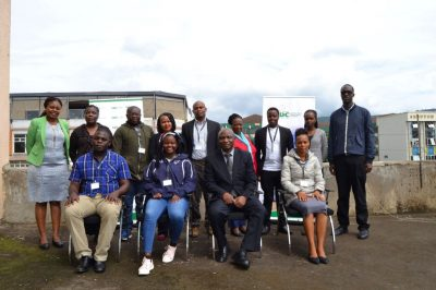 Geothermal exploration training course by GDC for geologists from Uganda and Tanzania