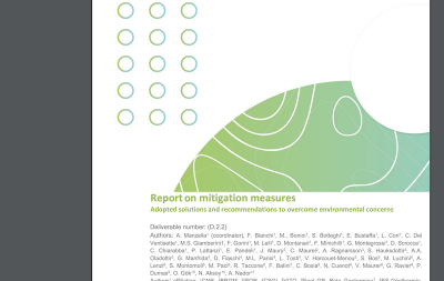 Report on environmental mitigation measures for geothermal development
