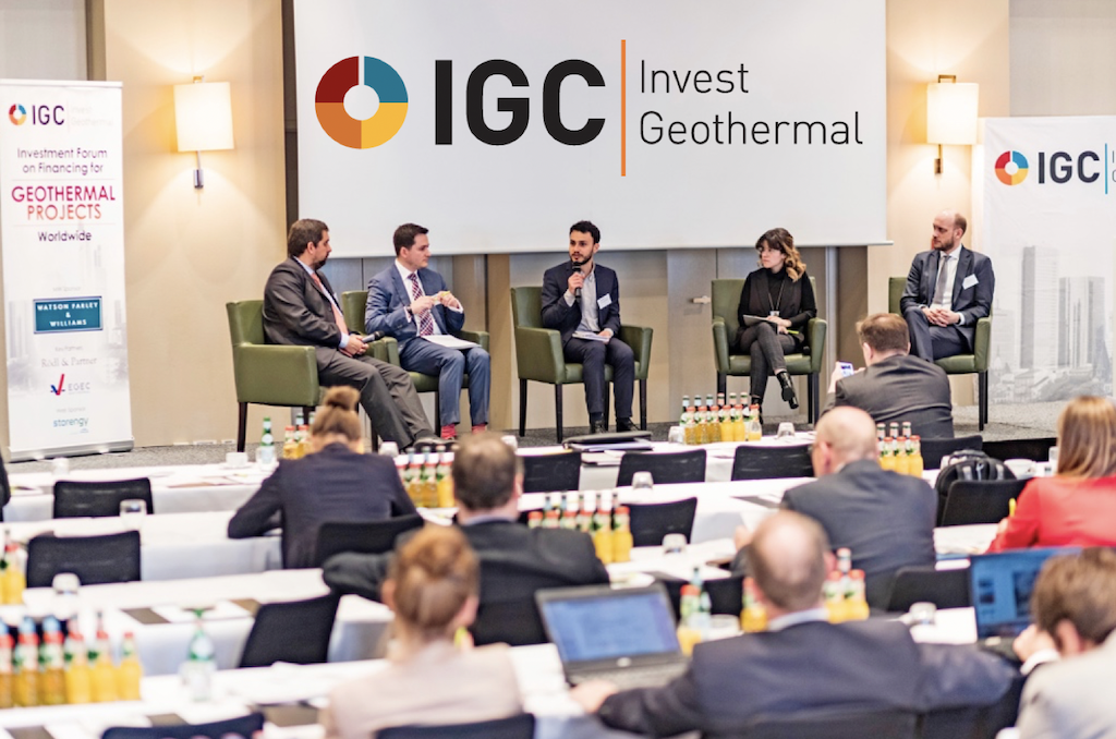 New Date: IGC Invest Geothermal Finance & Investment Conference, Frankfurt 14-15 Sep. 2020