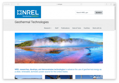 NREL on how its analysis work can help impact geothermal development