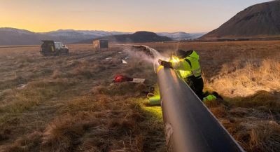 New geothermal district heating pipeline to change life of community in Iceland