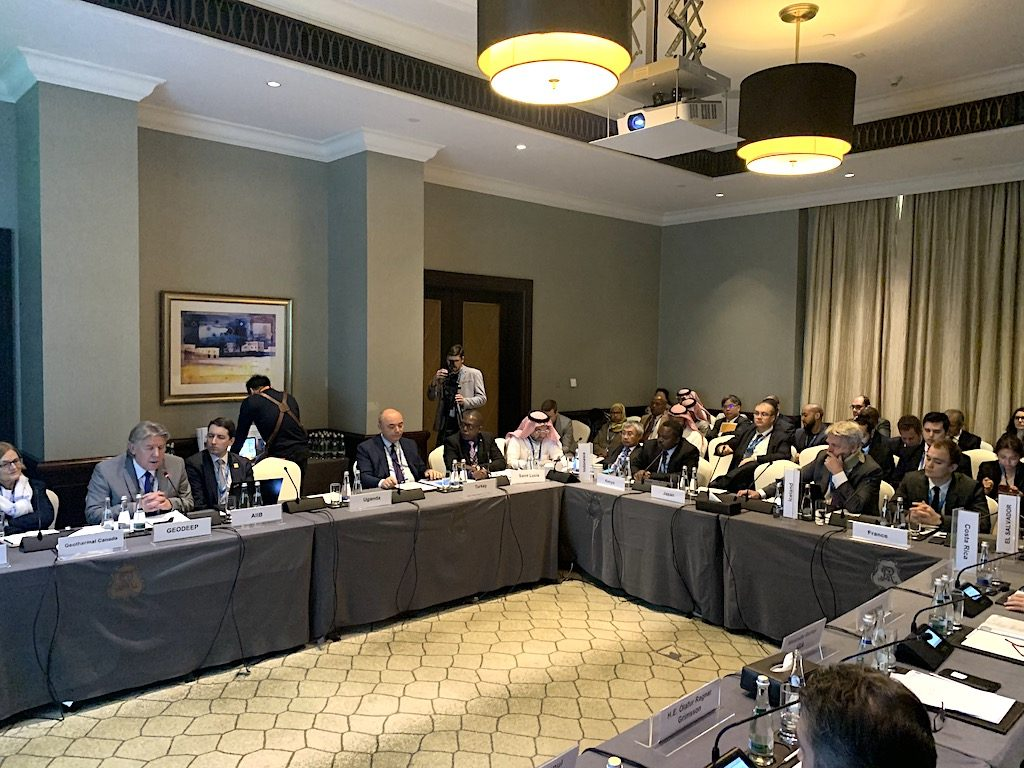 Notes and presentations of meeting of the Global Geothermal Alliance/ IRENA have been released