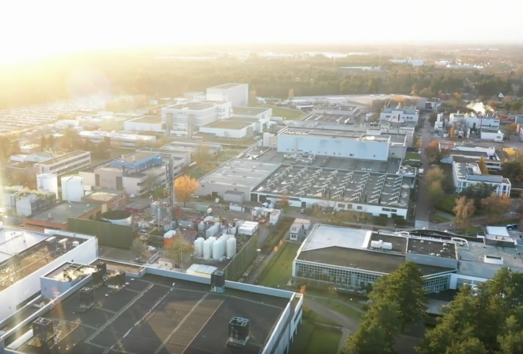 Drilling under way for geothermal heating project of Janssen Pharmaceutica, Belgium