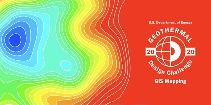 2020 U.S. DOE Geothermal Design Challenge – GIS Mapping – now open