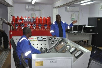 Geothermal drilling rig simulator by GDC in Kenya