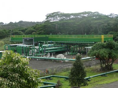 Ormat resumes operation of the Puna geothermal power plant on Hawaii