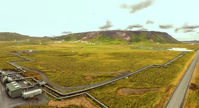 Steam field supply system of the Theistareykir geothermal plant, Iceland