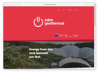 Tender: Supply drilling rig for Eden Geothermal Project, UK