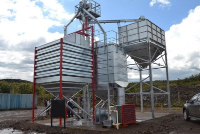 Geothermal used for cereal drying at GDC in Kenya