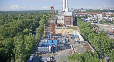 Largest geothermal heating plant in Germany begins implementation