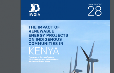 Report looking at impact of Olkaria geothermal project on indigenous communities in Kenya