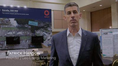 How to handle the current crisis as a geothermal company – Interview with Patrick Hanson