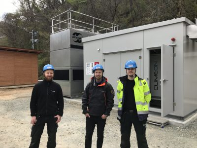 Baseload Capital/ Climeon commission their first geothermal plant in Japan
