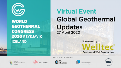 WGC2020 – Virtual Event, 2020 Global Geothermal Updates Power & Direct Use