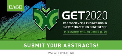 EAGE Geoscience & Engineering in Energy Transition Conference – 16-18 Nov. 2020
