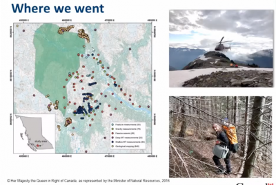 Recording & Presentations – Meeting on geothermal research work at Mt. Meager, BC/ Canada