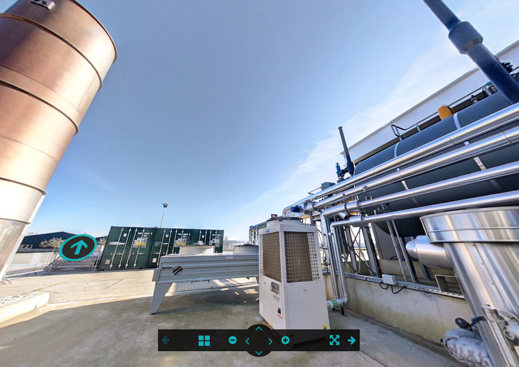 Virtual Reality tour through the Trias Westland geothermal heat plant, Netherlands