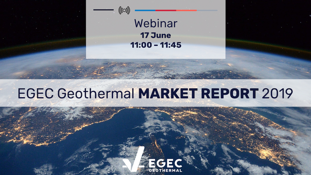 EGEC Webinar – Europe Geothermal Market Report, June 17, 2020