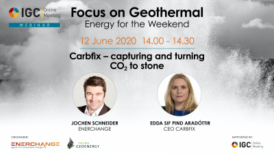 Webinar – Capturing and turning CO2 to stone, the story of Carbfix in Iceland