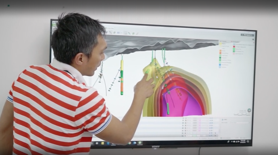 Using 3D modelling software for geothermal operations – Supreme Energy, Indonesia