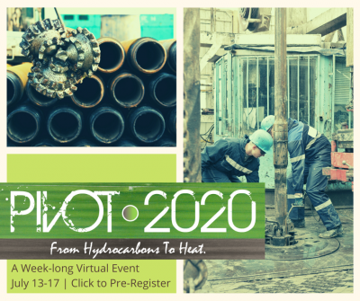 Pivot2020 – Building the future of geothermal – Panel Recordings